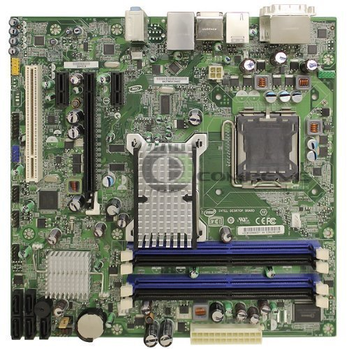 Refurbished Intel DQ45CB Intel Q45 Socket 775 mATX Motherboard Dual DVI, Audio, eSATA, GbLAN & RAID