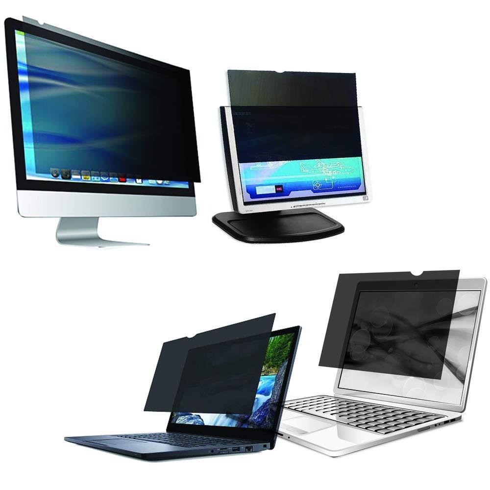 BeMatik Filtro de privacidad protector para pantalla y monitor 23 16:9