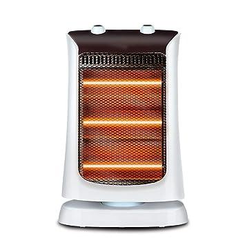 JJJJD Calentador Hogar Ahorro de energía Calentador eléctrico Sacudir la Cabeza Calentador Estufa de asado de Escritorio Ahorro de energía: Amazon.es: Hogar