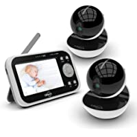 LBtech Wireless Video Baby Monitor with 2 Digital Cameras