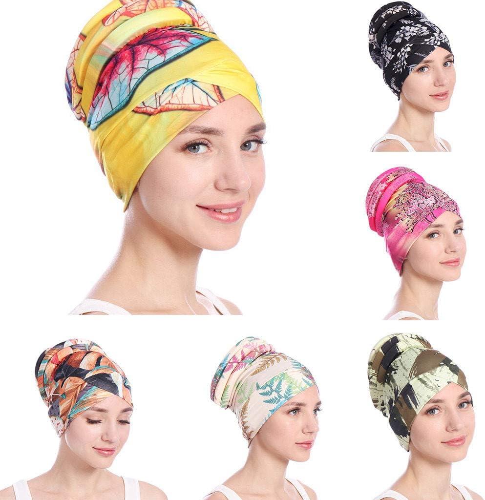 Foroner Women Kerchief Islamic Muslim Hijab Turban Headpiece Hat Headwrap Scarf Cover Chemo Cap Newly Headkerchief AG