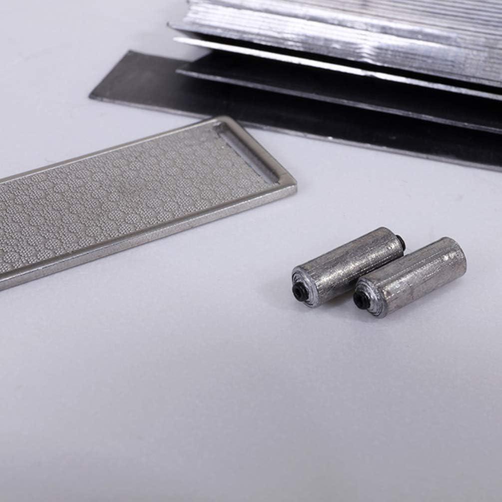 BESPORTBLE 1 Rouleau de Feuille de Plomb Poids de P/êche Portable Lest Plongeur de Bande de Plomb pour La P/êche en Plein Air 0 3 Mm D/épaisseur