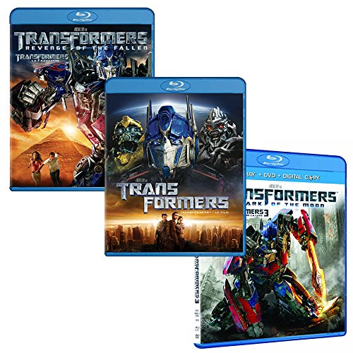 Transformers Trilogy Pack [Blu-ray]