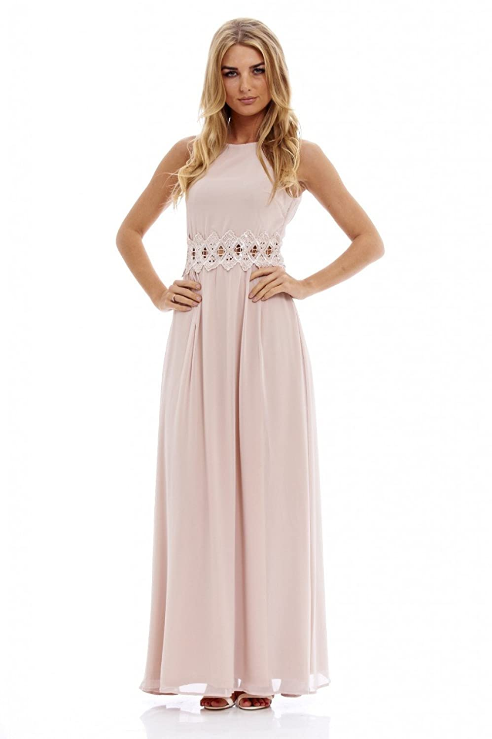 c329ef6e35 This gorgeous and fresh for this season chiffon skirt with sequin  embellished cut out waist dress this style suits all shapes and sizes with  its sleeveless ...