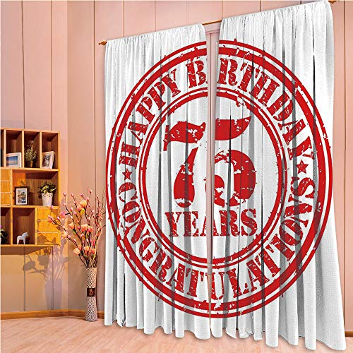 ZHICASSIESOPHIER Finel Kids Curtains for Living Room Bedroom