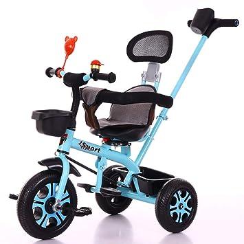 SSLC Triciclos Bebes 1 AñO +18 Meses Triciclo con Pedales Plegable ...