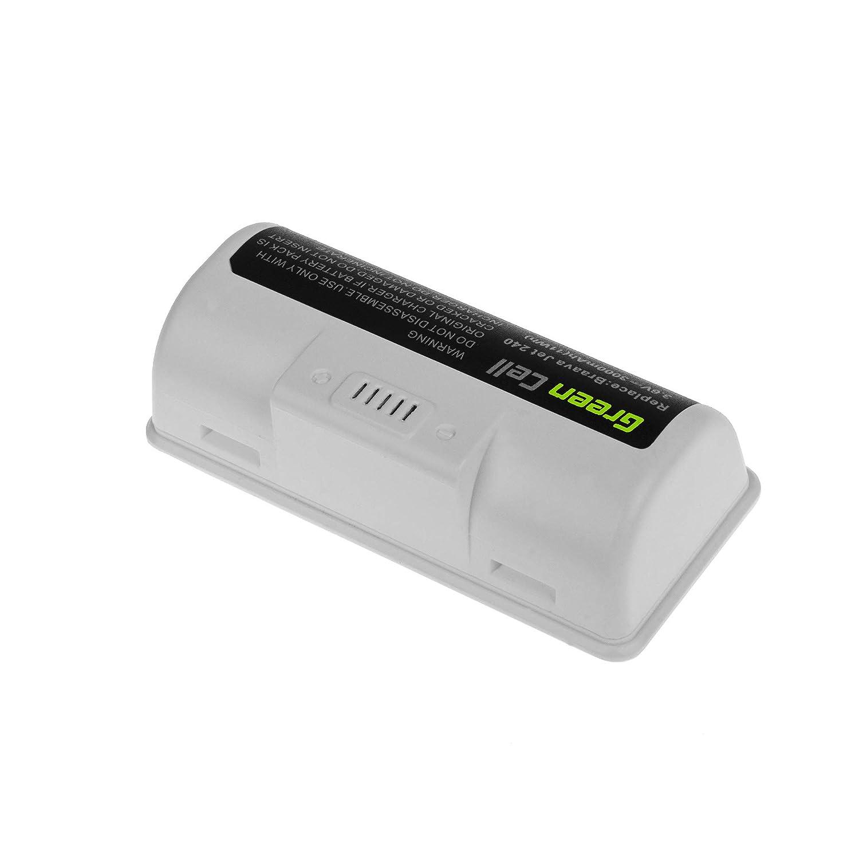 3Ah 3.6V Li-Ion Samsung pile 4446040 BC674 Bater/ía para iRobot Braava Jet 240 de Aspirado UFE-ALT240ROB GC/®