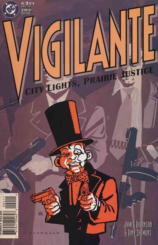 Amazon Com Vigilante City Lights Prairie Justice 2 Vf Dc Comic