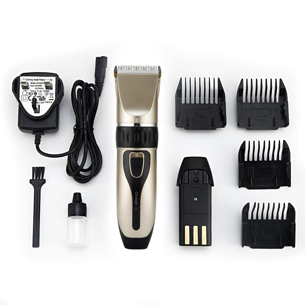 Ubor Hair Clipper Rechargeable Hair Trimmer Electric Haircut Kit Cordless Professional Hair Clippers for Mens Adult Kids