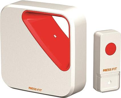 Press Fit Echo-III Auto-Learning Wireless Bell
