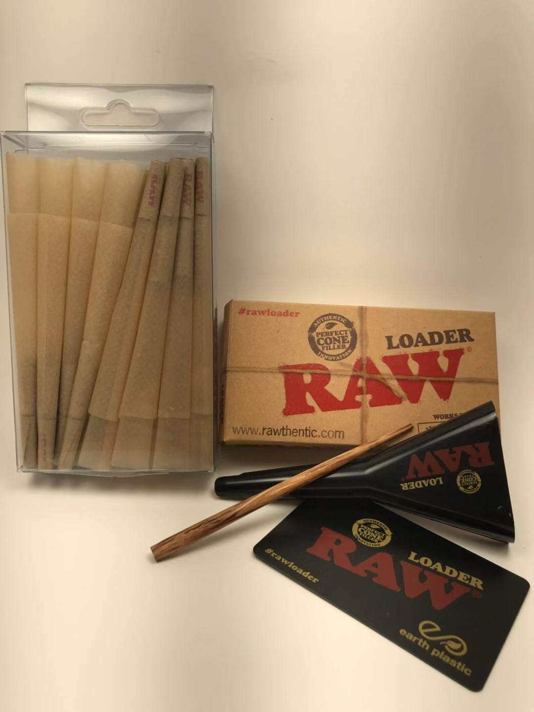 661a6542f10 Amazon.com  RAW Classic 98 Special Size pre Rolled Cone with Filter tip (50  Cones) +RAW Cone Loader Sale  18.99. Free Fast DELIVERY 3-4 Days.