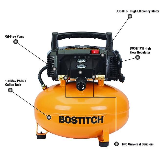 bostitch btfp02012 6 gallon pancake compressor amazon ca tools bostitch btfp02012 6 gallon pancake compressor amazon ca tools home improvement