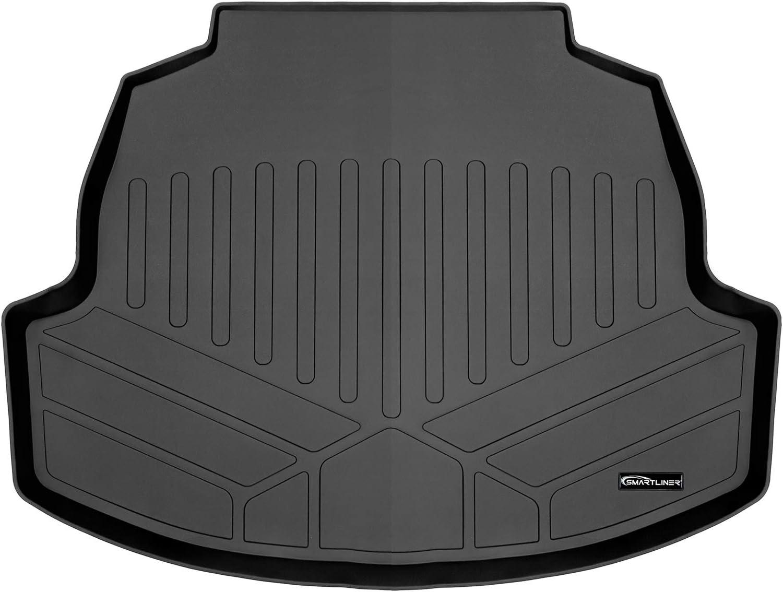 MAXLINER All Weather Custom Cargo Liner Trunk Floor Mat Black for 2020 Toyota Corolla Sedan