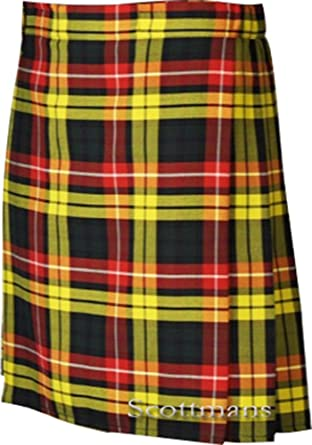 c08486b10e93 Scottmans SCOTTISH HIGHLAND BUCHANAN Traditional Kilt at Amazon ...
