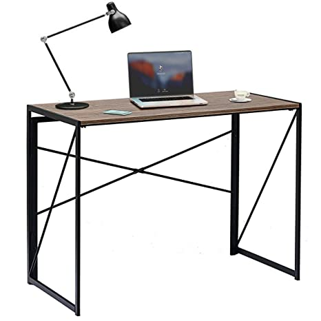 Amazon.com: Escritorio de ordenador moderno y plegable para ...