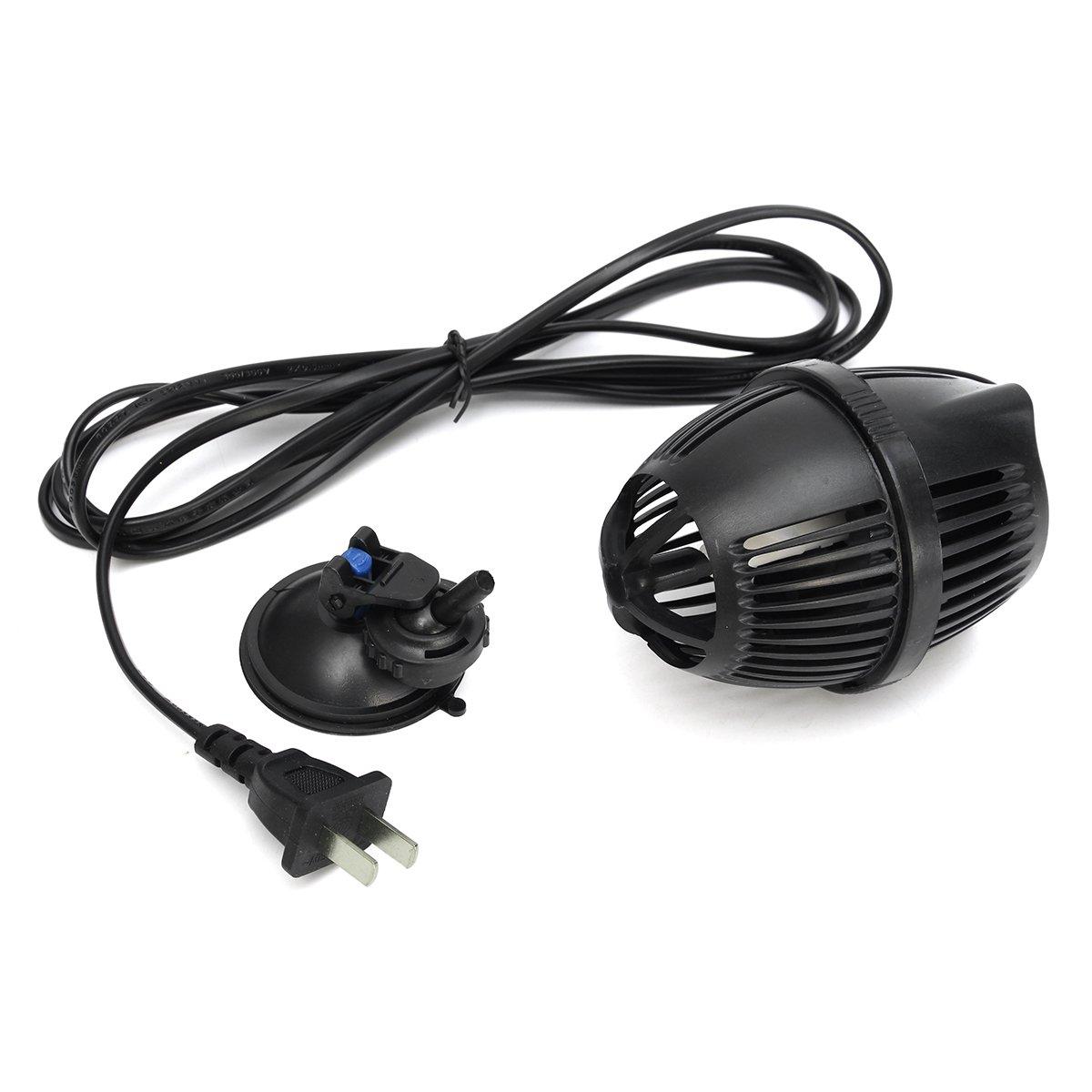 3000L/H 800 GPH Powerhead Aquarium Circulation Pump Wave Maker Suction Cup Mounted Aquarium Terrarium Water Pump Supplies