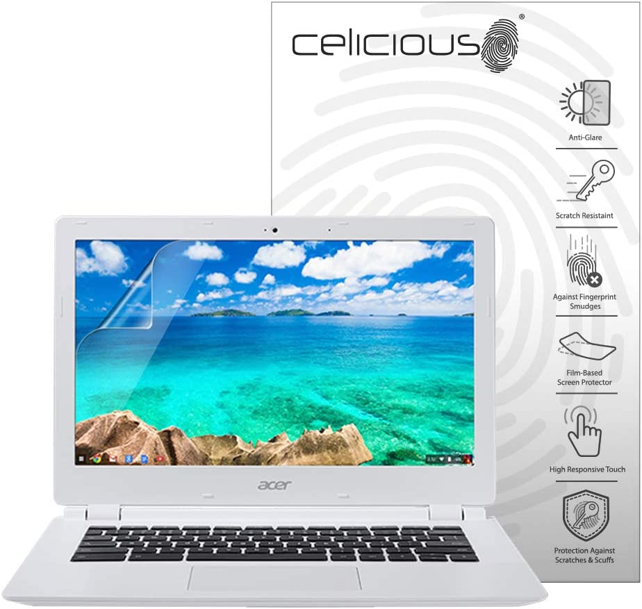 Celicious Matte Anti-Glare Screen Protector Film Compatible with Acer Chromebook 11 (CB3-111) [Pack of 2]