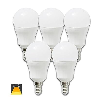 Aigostar - Bombilla LED A5 P45, E14, 7 W equivalente a 50 W,
