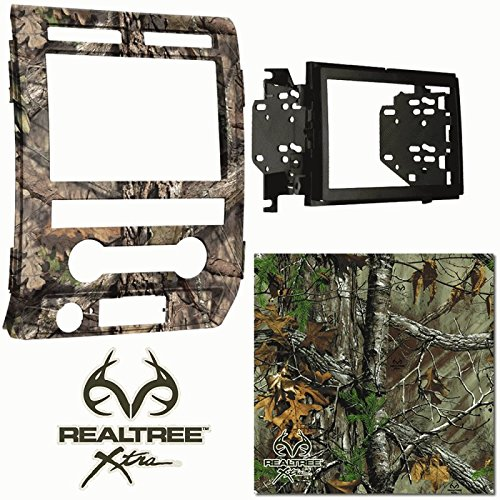 Metra RTX-95-5822 Double DIN Dash Kit For Ford F-150 2009-2010 Painted Realtree Xtra - 2009 Camo