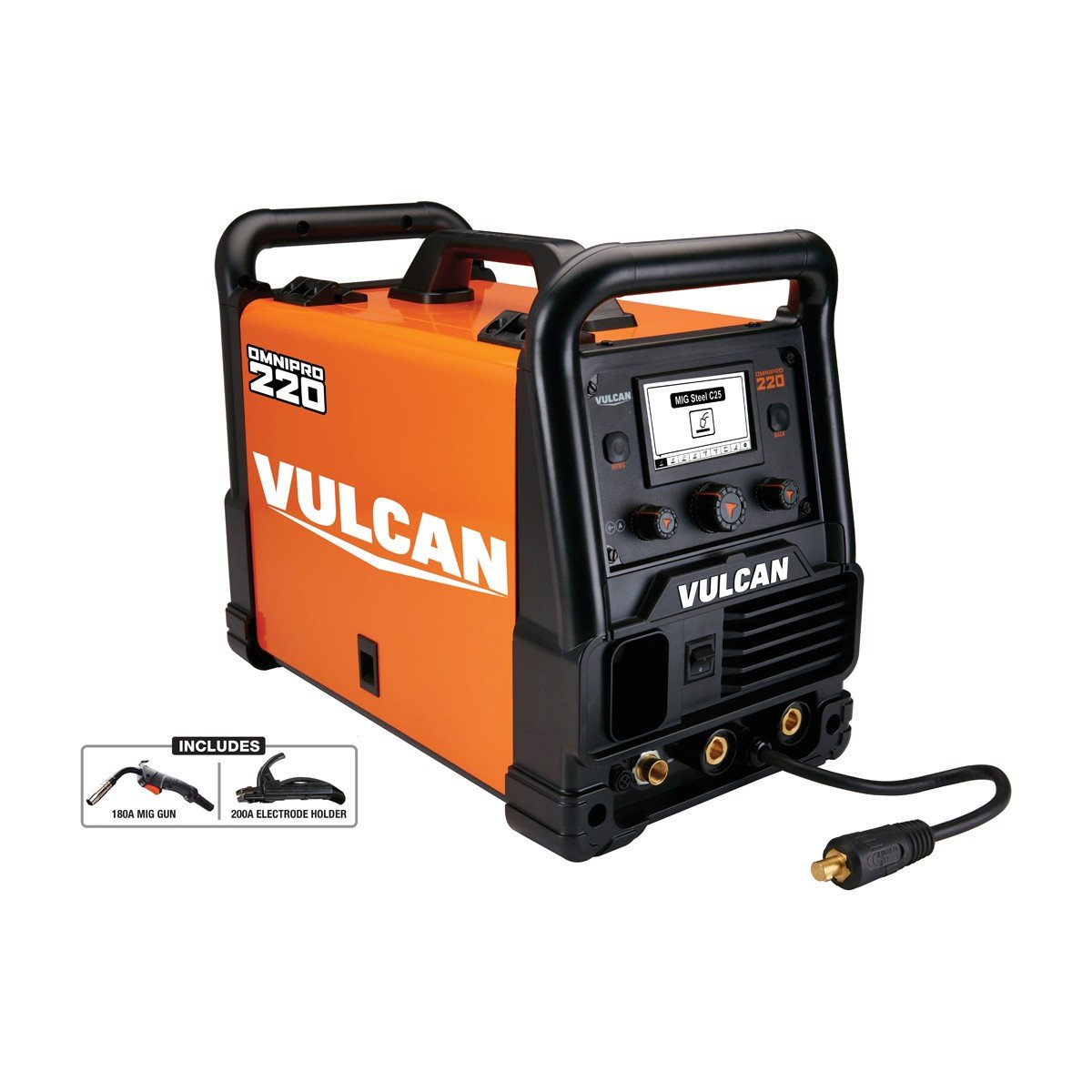 Vulcan OmniPro 220 Multiprocess Welder with 120/240 Volt Input Harbor Freight Tools