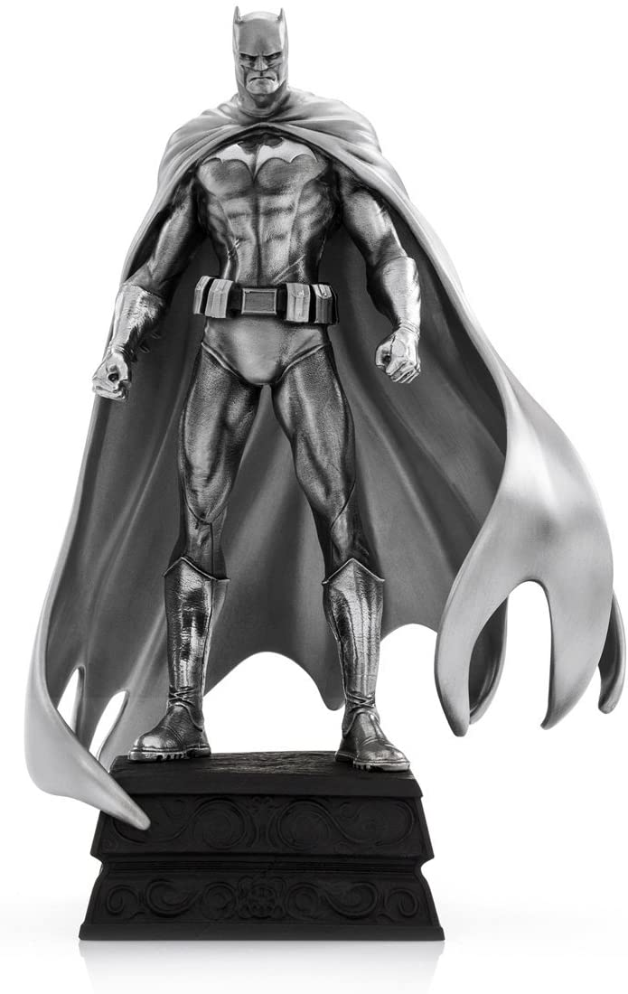 Royal Selangor Hand Finished DC Collection Pewter Batman Resolute Statue Figurine Gift