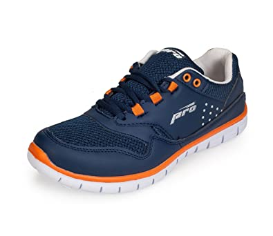 Navy Synthetic/Mesh Sports Sneakers