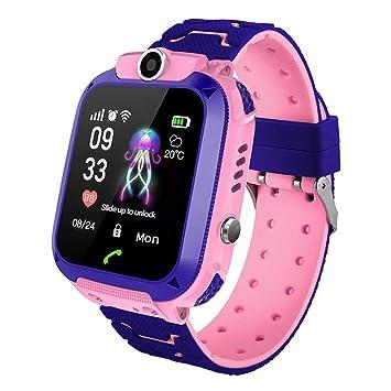 Smartwatch para Niños, Reloj Inteligente Niños con Pantalla ...