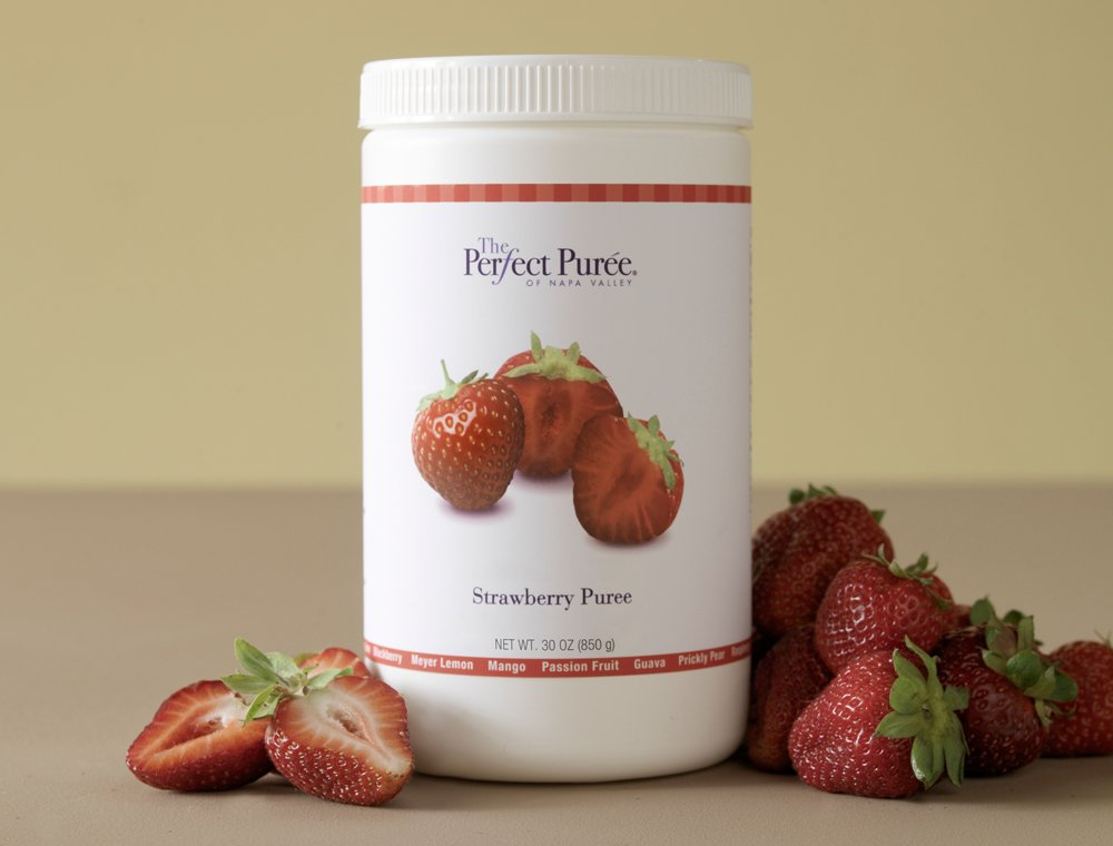 Strawberry Puree - 30 Ounces (1 container)