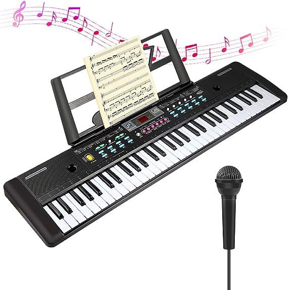 CHUYANG 61 Keys Keyboard Piano