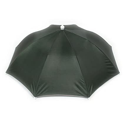 Amazon.com  uxcell Elastic Headband Beach Umbrella Hat for Fishing ... 3dce5cacb65