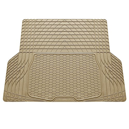 FH Group F16402TAN Cargo Mat (Deluxe Trim to Fit All Weather Tan) ()