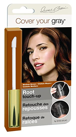 Claudia Stevens Cover Your Gray Root Touch Up Hair Color - Medium Brown