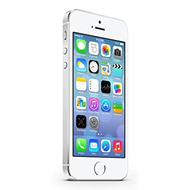 Apple iPhone 5S Plata 32GB Smartphone Libre (Reacondicionado)