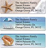 Colorful Images Calm Seas Personalized Return Address Labels - Classic Self-Adhesive, Flat-Sheet (3 Designs), 240 Labels