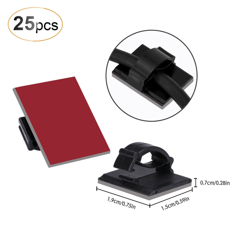 50 Stück Kabelklemme Set Management: Amazon.de: Elektronik
