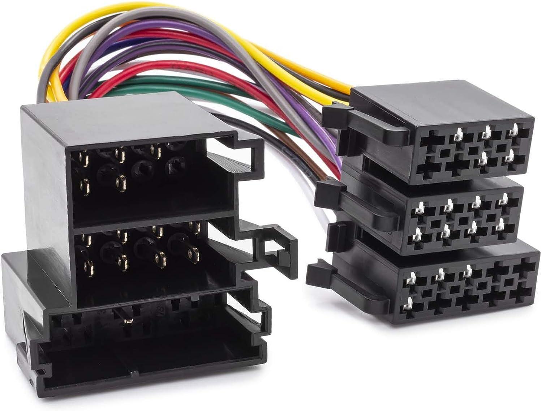 Mini Iso Adapter Kabel Display Umrüst Tid Mid Radio Steuerung Kompatibel Mit Opel Auto