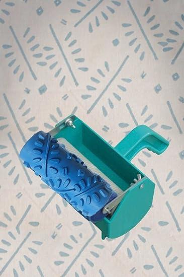 Home Organizer Tech 12,7 Cm Gemustert Rolle Deko Roller Mit Single Farbe  Dekoration