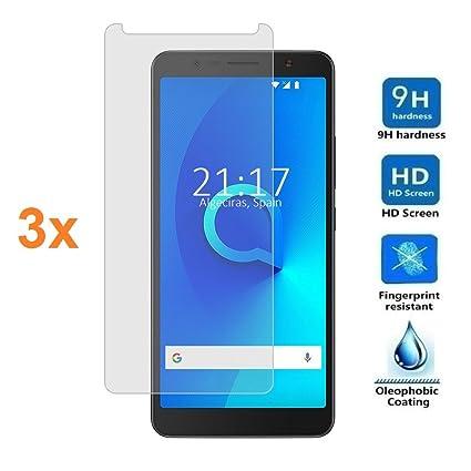 Amazon.com: 3X Screen Protector for ALCATEL 3C, Tempered ...