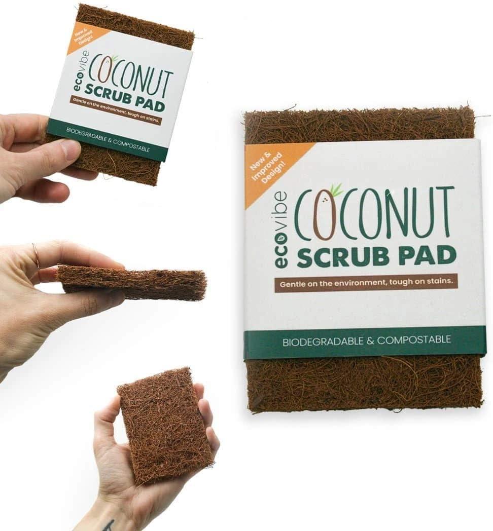 Non-Scratch Coconut Fibre Scrub Pad