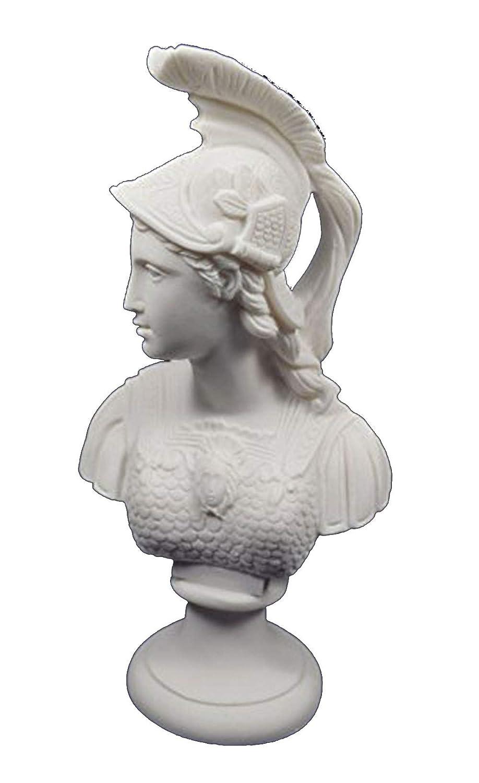 Athena scultura busto Minerva dea greca antica grande busto Estia Creations
