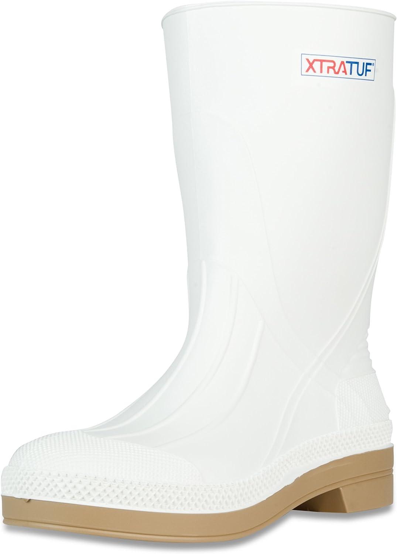 """XTRATUF 11"""" Men's PVC Shrimp Boots, White (75136)"""