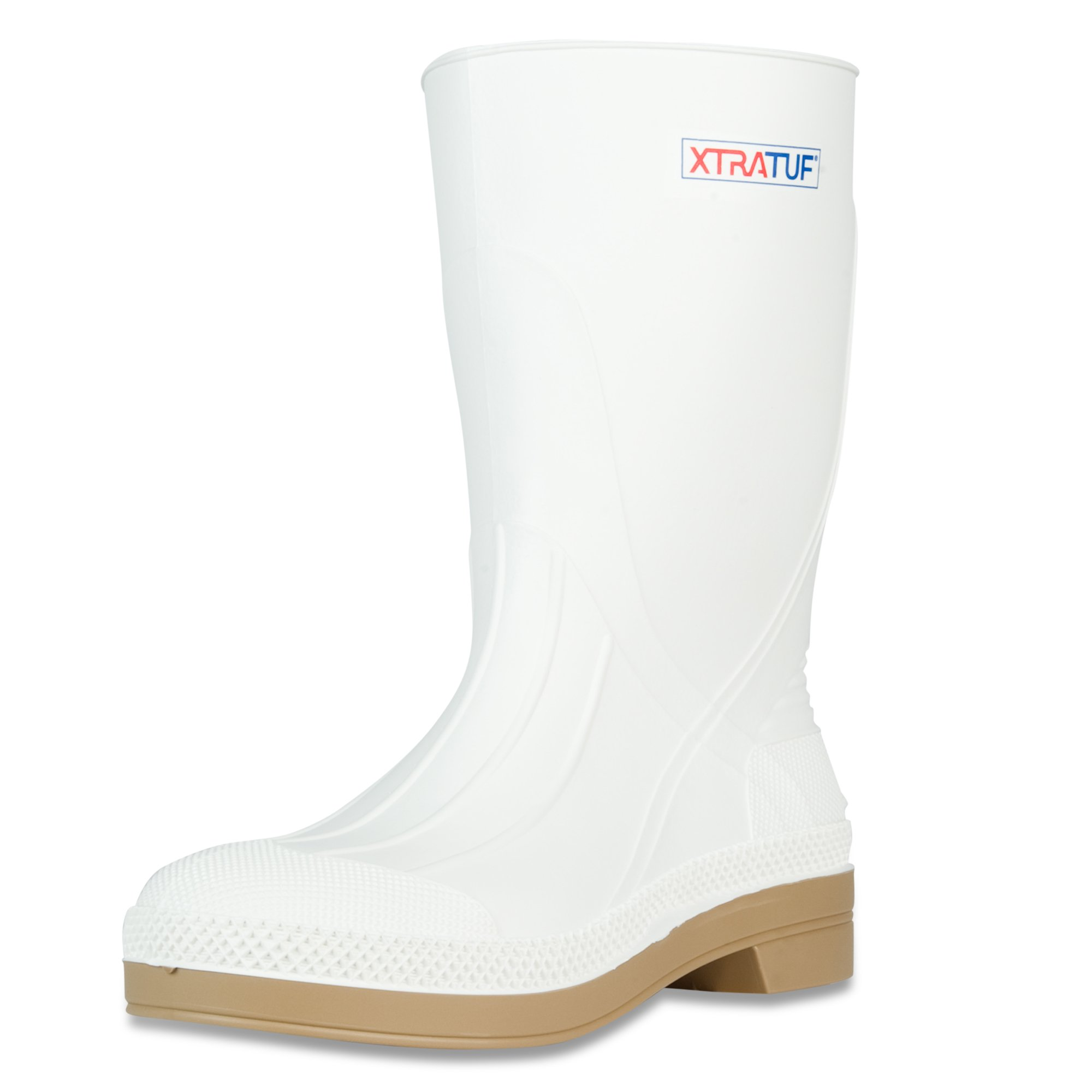 XTRATUF 11'' Men's PVC Shrimp Boots, White (75136)