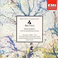 Britten: Spring Symphony, Four Sea Interludes / Previn