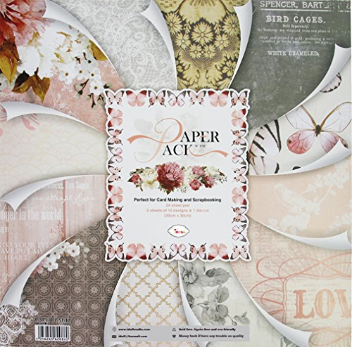 IDULL Cardstock Paper 12x12 for Scrapbooking, Card Making and Handwork by IDULL