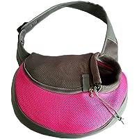 YUDODO Sling Pet Carrier, Reversible Mesh Travel Tote Shoulder Sling bag for Dogs Cats