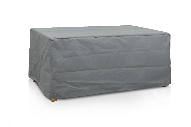 Eigbrecht 240220 Robusta Abdeckhaube Schutzh/ülle mit Abhang f/ür Tischplatten rechteckig grau 220x100x70cm