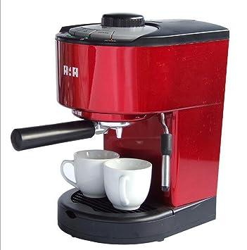 AN-LKYIQI Inicio italiano de alta presión máquina de café semi-automática de vapor de leche que hace la máquina de café , red: Amazon.es: Deportes y aire ...