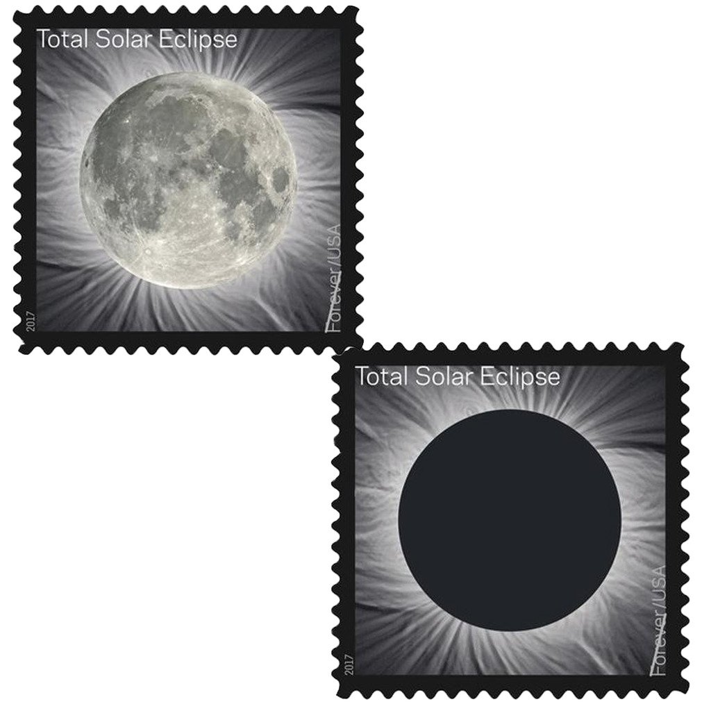 Total Solar Eclipse of the Sun 10 Sheets of 16 USPS First Class Postage Stamps Wedding Celebration