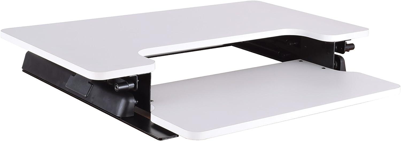 OSP Home Furnishings Prado Desk Riser, White