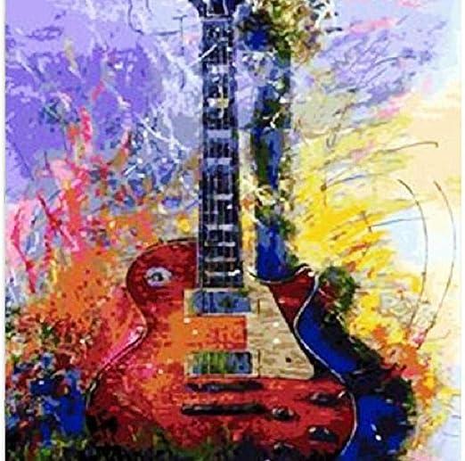 leafgame Guitarra Puzzle Adultos de Madera 1000 Piezas Piezas ...